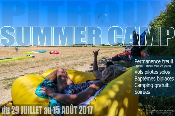pitroux summer camp - vols solos - Baptêmes biplaces