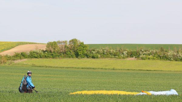 Bienvenue Pitroux - Parapente en plaine
